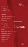 Rosette Pipar - Instants.