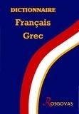 Rosgovas - Dictionnaire français-grec pour élèves.