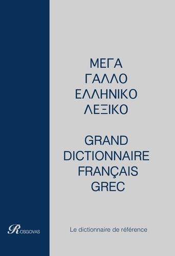 Rosgovas - Grand dictionnaire français-grec et grec-français - Coffret 2 volumes.
