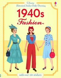 Rosie Hore - Historical sticker dolly dressing 1940s fashion.