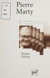 Rosine Debray - Pierre Marty.