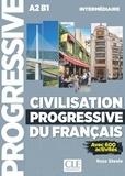 Ross Steele - Civilisation progressive du français Intermédiaire - Avec 600 activités. 1 CD audio MP3