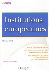 Rostane Mehdi - Institutions européennes.