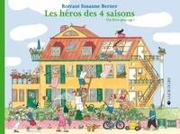 Rotraut Susanne Berner - Les héros des quatre saisons - Un livre pop-up !.