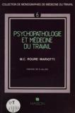 Roure-Mariotti - Psychopathologie et médecine du travail.