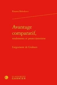Roxana Bobulescu - Avantage comparatif - L'argument de Graham.