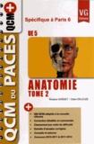 Roxane Gaïsset et Claire Deleuze - Anatomie UE 5 - Tome 2 spécifique à Paris 6.