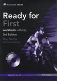 Roy Norris et Lynda Edwards - Ready for First - Workbook with Key. 1 CD audio