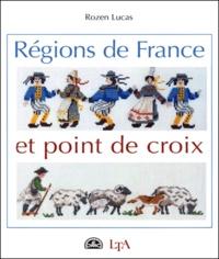 ROZEN Lucas - Régions de France et point de croix.