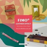 Rozen Martel et  Misscreatives - Fimo - Leather-effect.