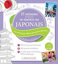 Rozenn Etienne et Miho Isobe-Pajot - 15 minutes par jour pour se mettre au japonais - Pour débutants et faux débutants. 1 CD audio MP3
