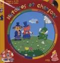 Rozenn Follio - Histoires et chansons - Une souris verte ; La Belle au bois dormant ; Le Petit chaperon rouge ; Il était une bergère. 4 CD audio