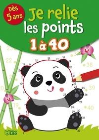Rozenn Follio-Vrel - Je relie les points de 1 à 40.