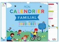 Rozenn Follio-Vrel - Mon calendrier familial - Inclus dans ce calendrier : 1 grande page pour chaque mois ; Plus de 600 autocollants ; 1 page de conseils écologiques ; Les fruits et légumes de saison ; 1 bloc-notes ; 4 magnets.