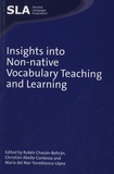 Ruben Chacon-Beltran et Christian Albello-contesse - Insights into Non-native Vocabulary Teaching and Learning.