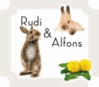 Rudi & Alfons. Aus dem Leben zweier Hasenbrüder - Kinderbuch mit beiliegendem Hörbuch.