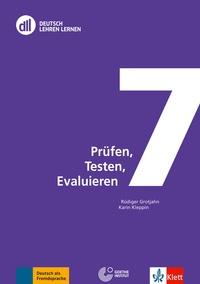 Rüdiger Grotjahn et Karin Kleppin - Prüfen, Testen, Evaluieren. 1 DVD