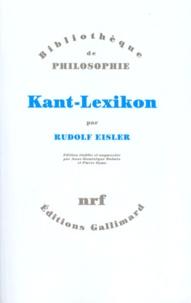 Rudolf Eisler - Kant-Lexikon.