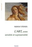 Rudolf Steiner - L'art entre sensible et suprasensible - Fondements d'une esthétique nouvelle.