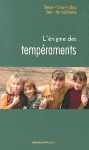 Rudolf Steiner et Wolfgang Schad - L'énigme des tempéraments.