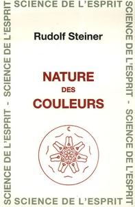 Rudolf Steiner - Nature des couleurs.