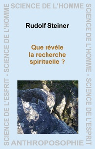 Que révèle la recherche spirituelle ?.pdf