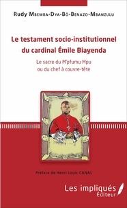 Alixetmika.fr Le testament socio-institutionnel du cardinal Emile Biayenda - Le sacre du M'pfumu Mpu ou du chef à couvre-tête Image