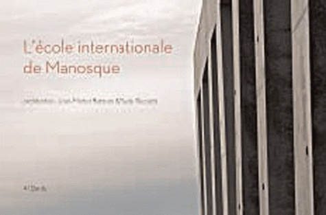 Rudy Ricciotti et Jean-Michel Battesti - L'école internationale de Manosque.