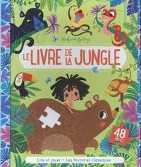 Rudyard Kipling - Le livre de la jungle - Avec 1 puzzle de 48 pièces.