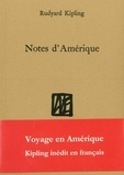 Rudyard Kipling - Notes d'Amérique.