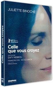 Safy Nebbou - Celle que vous croyez. 1 DVD
