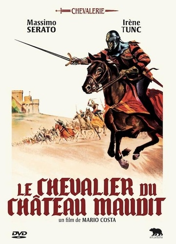 Mario Costa - Le chevalier du chateau maudit. 1 DVD