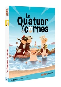 Emmanuelle Gorgiard - Le quatuor à cornes. 1 DVD