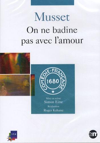 Alfred de Musset - On ne badine pas avec l'amour. 1 DVD