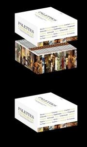 Alain Jaubert - Palettes l'intégrale - L'Encyclopédie de la Peinture, 18 DVD.