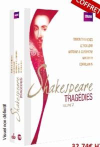 William Shakespeare - Shakespeare : tragédies - Volume 2. 5 DVD