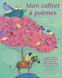 Rue du monde - Mon coffre à poèmes - A suspendre, exposer et partager.