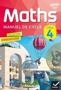 Rui Dos Santos et Olivier Lassalle - Maths Cycle 4 - Manuel de l'élève.