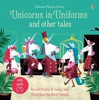 Russell Punter et Lesley Sims - Unicorns in Uniforms and other tales. 1 CD audio