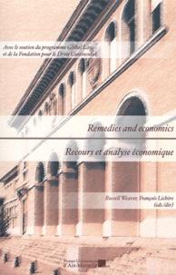 Russell Weaver et François Lichère - Recours et analyse économique.