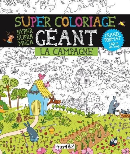 Coloriage Geant Animaux.Super Coloriage Geant La Campagne