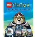 Ruth Amos - Lego Legends of Chima, le coffret collector - Avec 3 livres et plus de 250 autocollants ! Inclus : Lego Sparratus et son robot araignée.