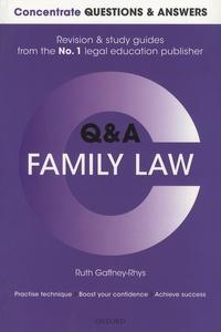 Ruth Gaffney-Rhys - Family Law.