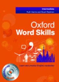 Ruth Gairns - Oxford word skills intermediate: student's pack.