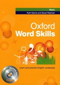 Ruth Gairns et Stuart Redman - Oxford Word Skills. 1 Cédérom