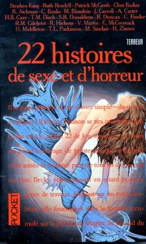 22 Histoires De Sexe Et D Horreur Poche