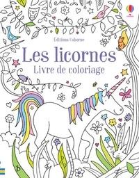 Ruth Russell - Les licornes - Livre de coloriage.