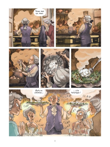 Dans les cuisines de l'histoire  A la table des Lumières