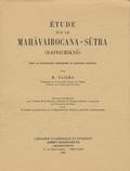 Ryujun Tajima - Etude sur le Mahâvairocana-Sûtra (Dainichikyô).
