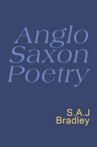S.A.J. Bradley - Anglo Saxon Poetry - Anglo Saxon Poetry.